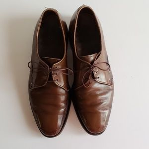 Nunn Bush Mens Shoes Size 8 Brown Laceup